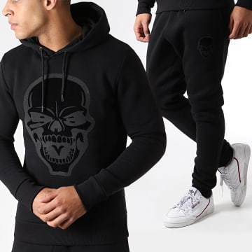 Ensemble de Survetement Skull Noir