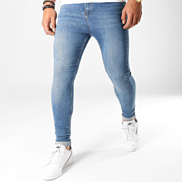 LBO - Jean Super Skinny Fit 753 SS-10A Denim Bleu