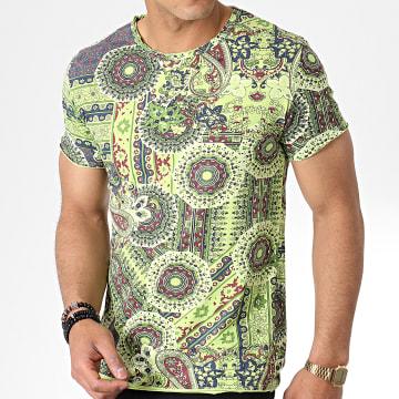 MTX - Tee Shirt TM0175 Vert Floral