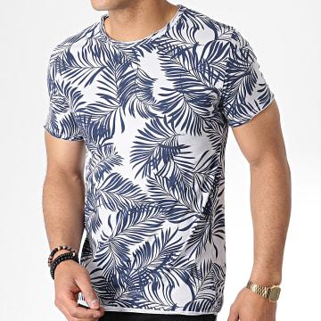 MTX - Tee Shirt TM0178 Gris Floral
