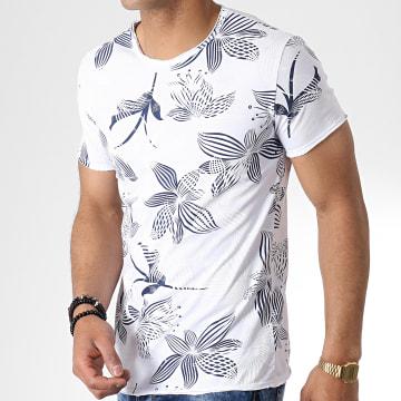 MTX - Tee Shirt TM0174 Blanc Floral