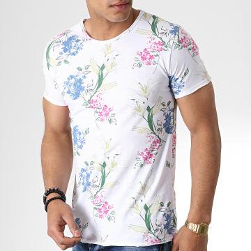 MTX - Tee Shirt TM0171 Blanc Floral