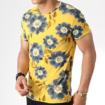 MTX - Tee Shirt TM0177 Floral Jaune