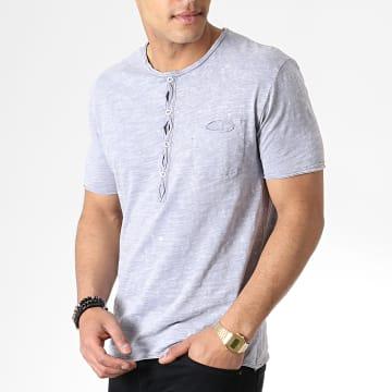 Tee Shirt Poche F1017 Gris