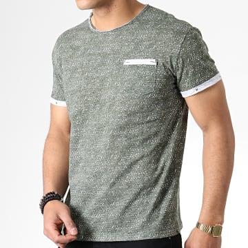 Tee Shirt Poche F1005 Vert Kaki