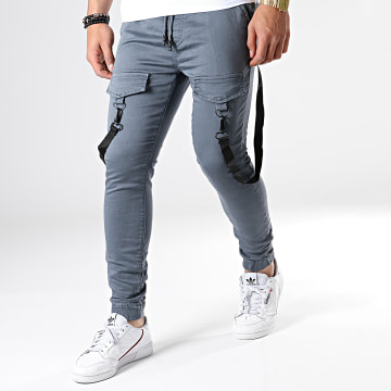 Jogger Pant Skinny DH-2684 Gris Anthracite