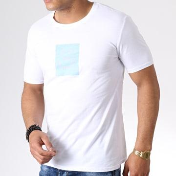 MTX - Tee Shirt F1010 Blanc Bleu Clair