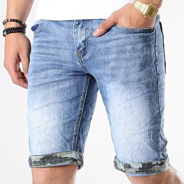 MTX - Short Jean N0032 Bleu Denim
