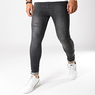 LBO - Jean Super Skinny Fit 790 SS-12A Denim Noir