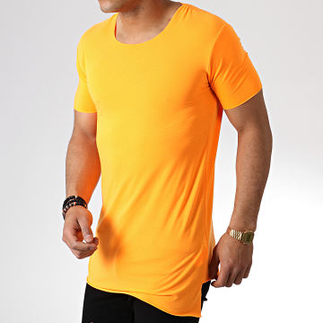 Ikao - Tee Shirt Oversize F439 Orange Fluo