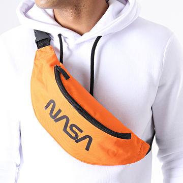 NASA - Sacoche Banane Worm Logo Orange