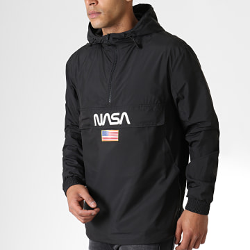 NASA - Coupe-Vent Worm Logo Noir
