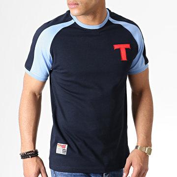 Tee Shirt Olive Et Tom Toho Bleu Marine Bleu Clair