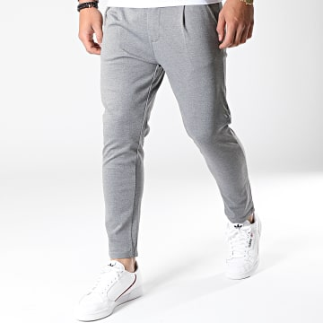 Uniplay - Pantalon PU904 Gris Chiné