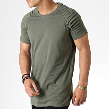 Urban Classics - Tee Shirt Oversize TB1563 Vert Kaki