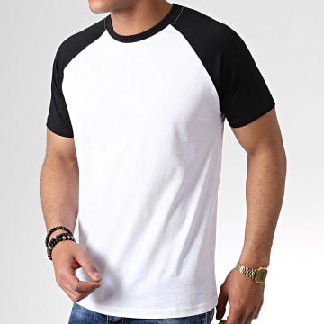 Urban Classics - Tee Shirt TB639 Blanc Noir