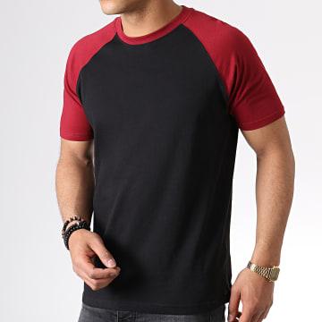 Urban Classics - Tee Shirt TB639 Noir Bordeaux