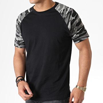 Urban Classics - Tee Shirt TB639 Noir Camouflage
