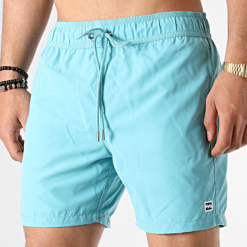 Short De Bain All Day Bleu Clair