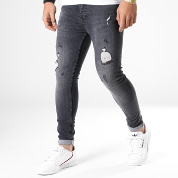 Jean Skinny 4310 Gris Anthracite