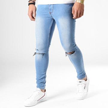 Jean Skinny 4302 Bleu Denim