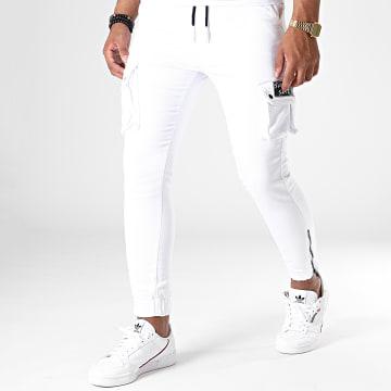 Jogger Pant DH-2657 Blanc
