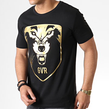 Game Over - Tee Shirt Wolf Noir Or