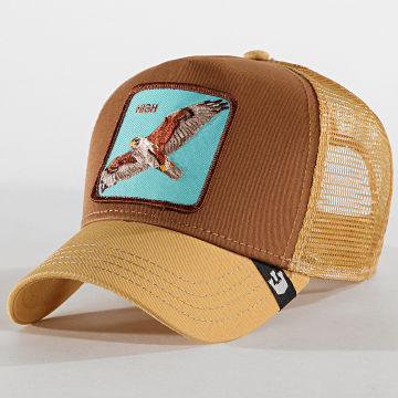 Goorin Bros - Casquette Trucker High Camel Marron