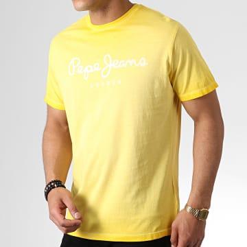 Tee Shirt West Sir PM504032 Jaune