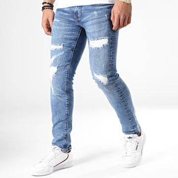 Pepe Jeans - Jean Slim Hatch PM200823WU70 Bleu Denim