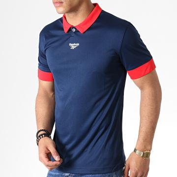 Reebok - Tee Shirt De Sport Classic Football FI2885 Bleu Marine