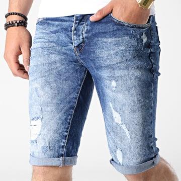 Short Jean 6025 Bleu Wash