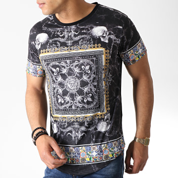 Tee Shirt Oversize Renaissance AJ975 Noir