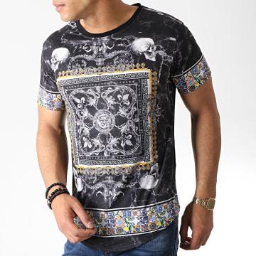Classic Series - Tee Shirt Oversize Renaissance AJ975 Noir