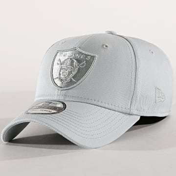 Casquette Fitted 39Thirty Team Tonal Oakland Raiders Gris