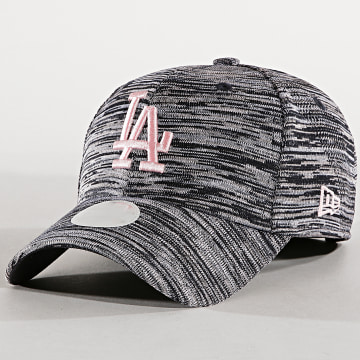 Casquette Femme 9Forty Engineered Fit Los Angeles Dodgers Noir Chiné