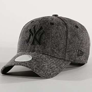 Casquette Femme 9Forty Denim Washed New York Yankees Noir