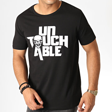 Untouchable - Tee Shirt Logo Noir Blanc