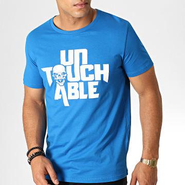 Tee Shirt Logo Bleu Roi Blanc