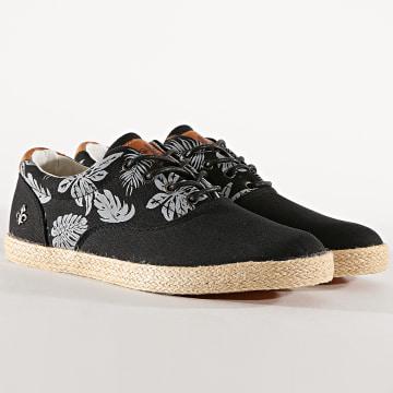Chaussures Churchill Noir Floral
