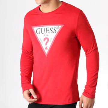 Tee Shirt Manches Longues M93I57K8FQ0 Rouge