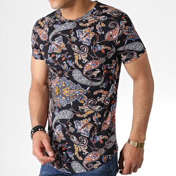 John H - Tee Shirt Oversize Bandana IT-021 Noir