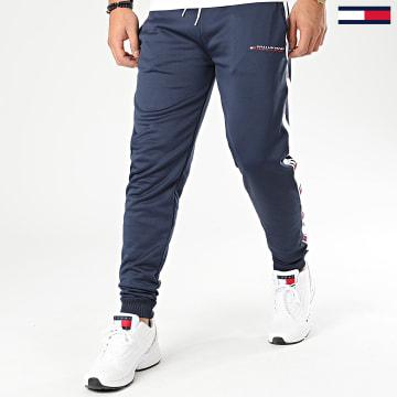 Pantalon Jogging Avec Bandes Tape 0118 Bleu Marine