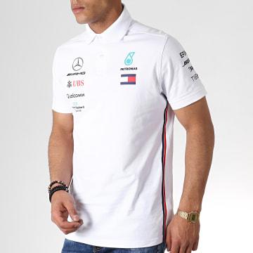 AMG Mercedes - Polo Manches Courtes 141191040 Blanc