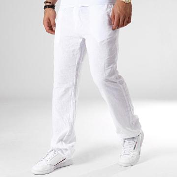 Armita - Pantalon Lin-01 Blanc