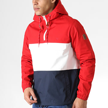 Element - Coupe-Vent Covert Rouge Blanc Bleu Marine