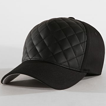 Flexfit - Casquette Fitted Diamond Quilted Noir