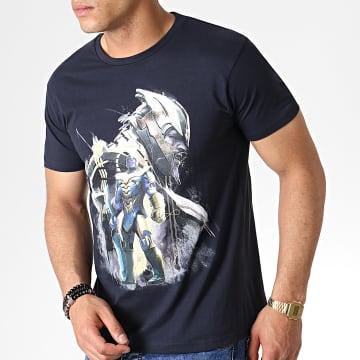 Avengers - Tee Shirt Avengers End Game Thanos Warlord Noir