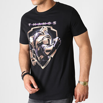 Tee Shirt Avengers Thanos Badge Noir
