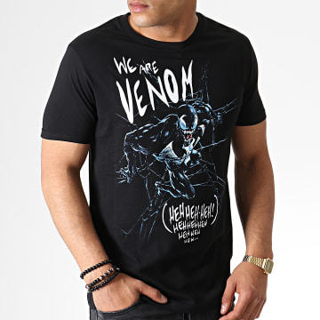 Marvel - Tee Shirt We Are Venom MEVENOCTS018 Noir